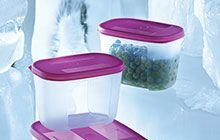 Tupperware products for refrigerator storage