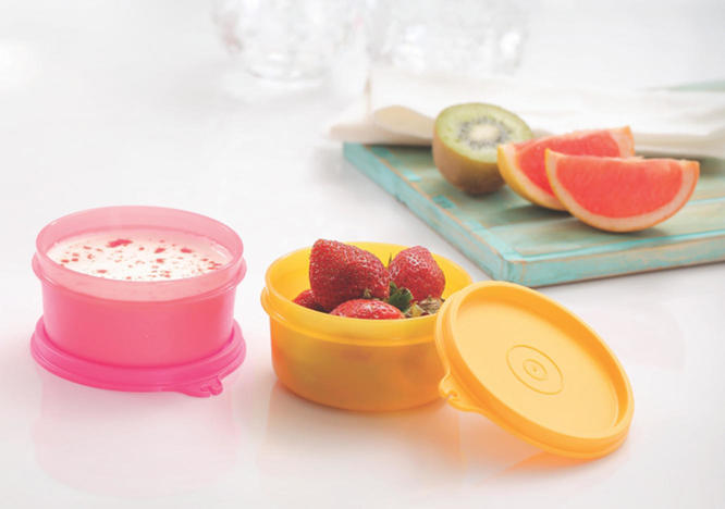 Tupperware -Small Tropical Twins 250ml set of 2